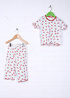 Детская Пижама (кофта, штаны) рибана 98-110