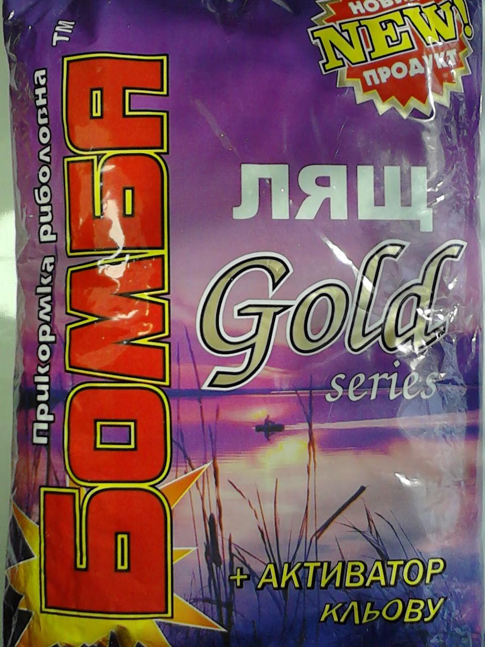 Прикормка Бомба Лящ Gold series