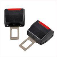 Универсальная автомобильная заглушка-переходник для ремня безопасности в авто 2 шт.