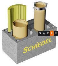 Керамический дымоход SCHIEDEL Dual (газ/твердое топливо)