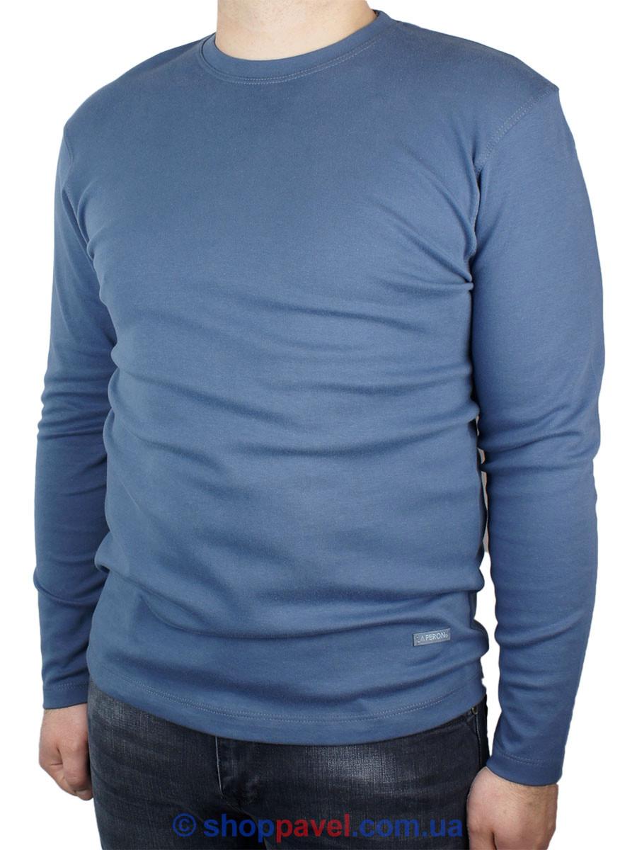Лонгслив чоловічий La Peron 0310 блакитного кольору