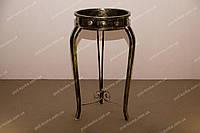Столик кованый под медь