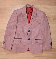 """Стильный пиджак в клетку для мальчика 1-5 лет, """"Altun"""" Турция"""