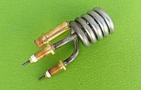 Тэн (нагреватель) нержавейка 3kW/ 220V/ штуцер Ø10мм (спиралевидный) для проточных смесителей-водонагревателей, фото 1