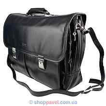 Портфель чоловічий  Bond 1203-1 чорного кольору