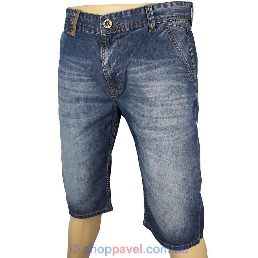 Чоловічі джинсові шорти Cen-cor СNC-1248 синього кольору