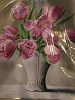 Схема Золотая подкова ЗПК-028 Тюльпаны в вазе