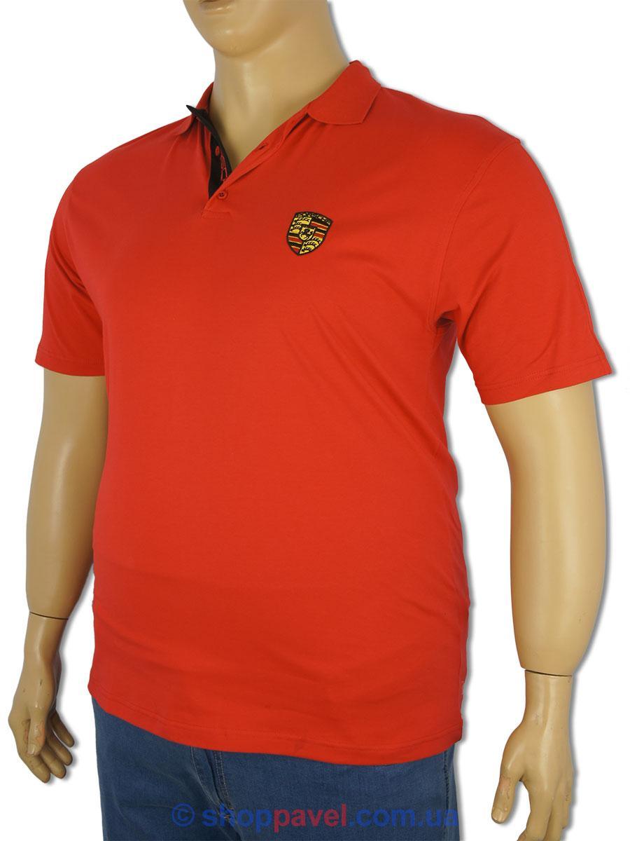 Чоловіча червона теніска 4361