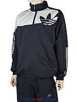 Чоловічій спортивний костюм Adidas 6004 -А D.Blu комбинованого кольору