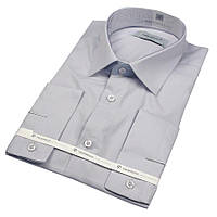 Чоловіча сорочка Negredo 29046 Slim світло-сірого кольору