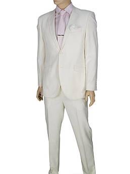 Класичний костюм Giordano Conti 179 в білому кольорі