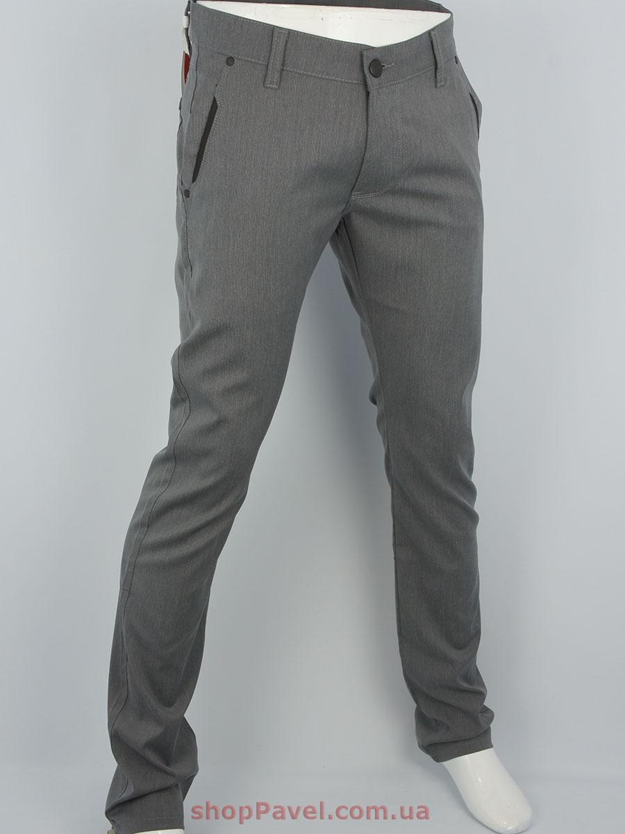 Стильні чоловічі брючні джинси Cen-cor CNC-3021 сірого кольору