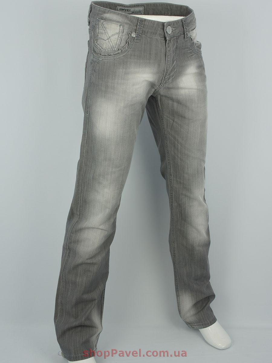 Чоловічі джинси Differ E-1659-1 сірого кольору