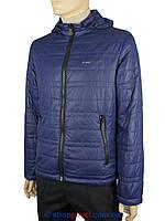 Чоловіча демісезонна куртка Malidinu 13032/2 синього кольору