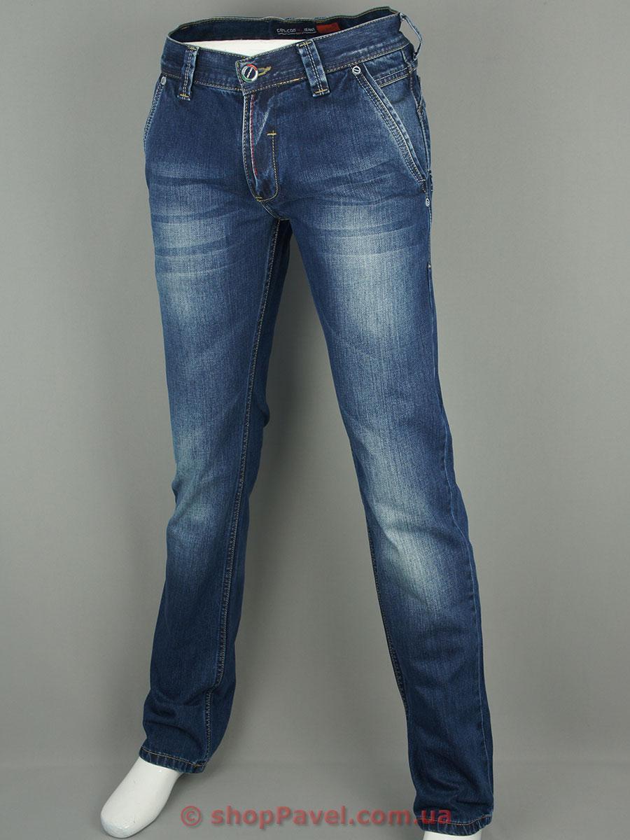 Чоловічі джинси Cen-cor CNC-1075 синього кольору