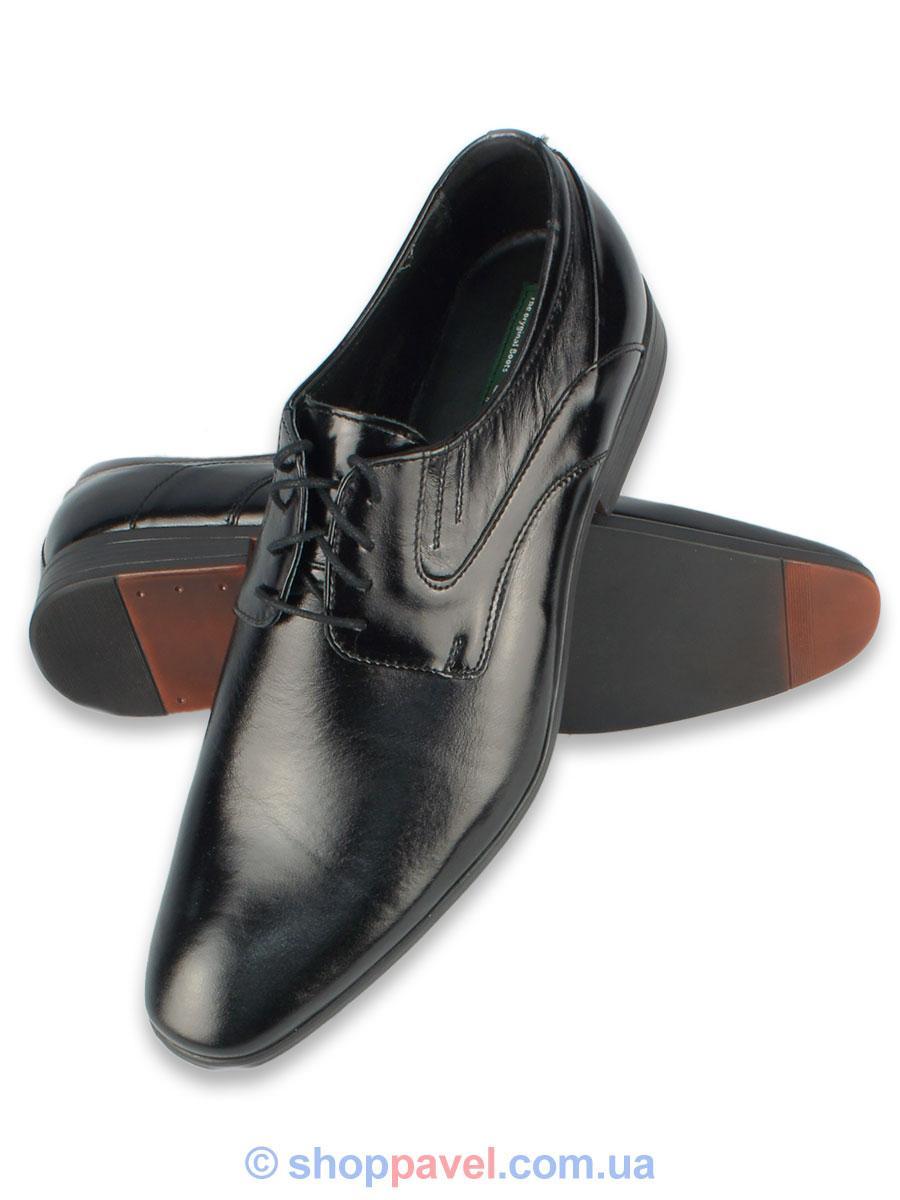 Туфлі чоловічі Lemi 732 чорного кольору - Магазин великих розмірів 5XL в  Сумской области 5ee8c287e3d04