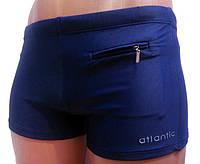 48 р Мужские плавки синего цвета Atlantic