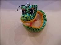 Брелок  змея зеленая 22см, цена за 1шт., в уп. 24шт (в уп. 24 шт.)