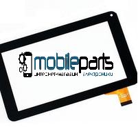 """Оригинальный Сенсор (Тачскрин) для планшета 7"""" X-digital TAB 700 (186*104 мм, 30pin) (Черный-Самоклейка)"""