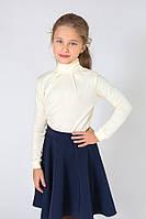 Детский гольф для девочки (молочный) Модный Карапуз, разм. 98-134