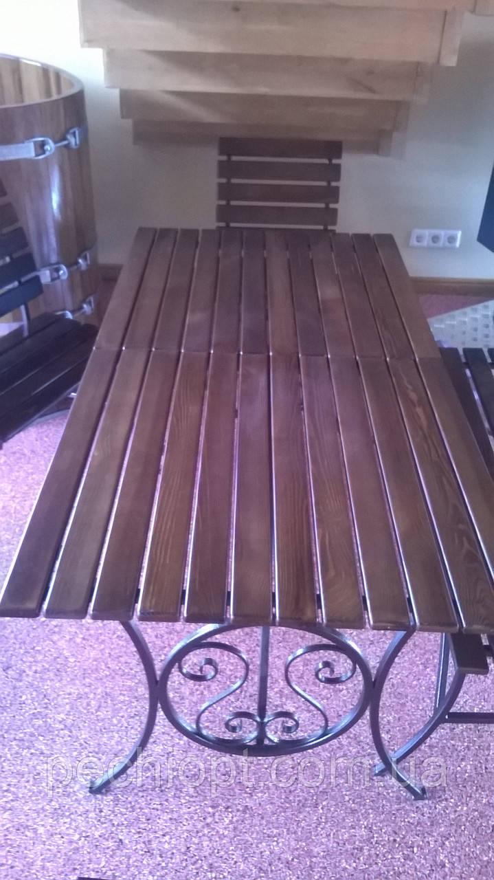 Кованые столы - Салон «Сауны Камины Барбекю» в Киеве
