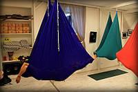 Гамак для йоги ( Синий)