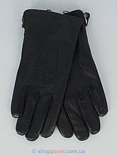 Чоловічі шкіряні рукавиці Manpel 0220