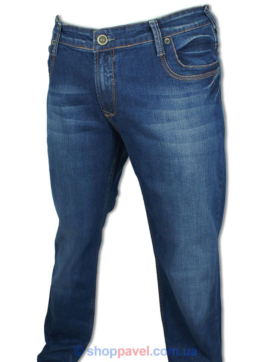 Турецькі чоловічі джинси X-Foot 140-1533 у великому розмірі