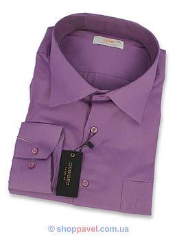 Чоловіча сорочка DSB комбінована 0330 B Classik  великих розмірів