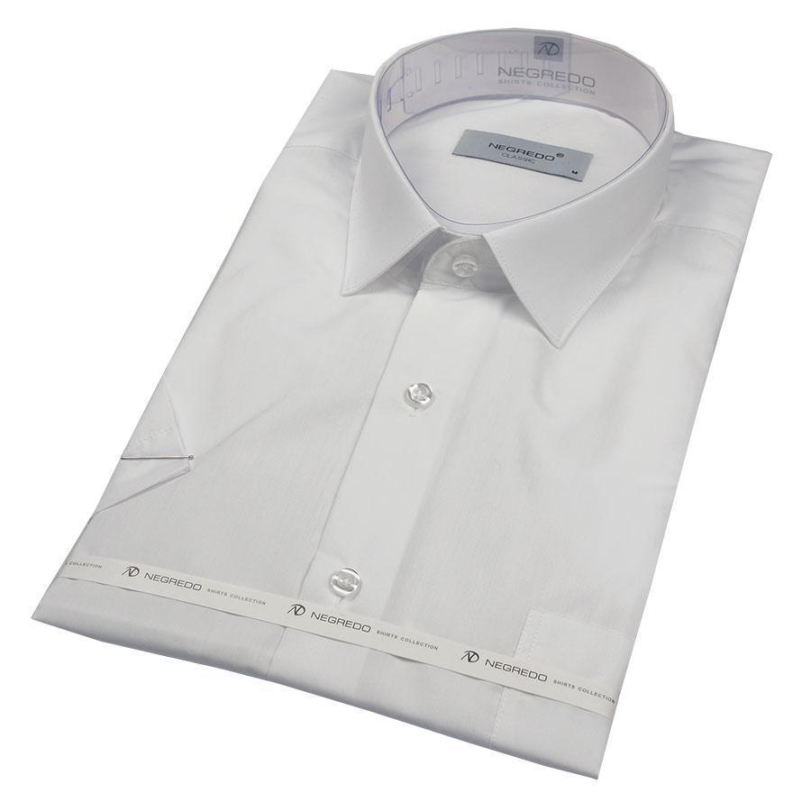 Чоловіча сорочка Negredo WHITE Classic білого кольору