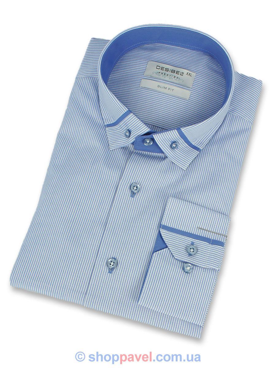 Чоловіча сорочка DSB 0350 Н комб. Slim