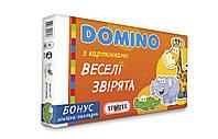 "Домино ""Микс"", 6 видов, в кор. 35,5*20*3см, произ-во Украина, ТМ Стратег (12шт)"