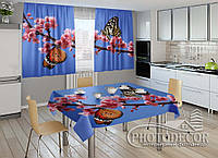 "Фото комплект для кухни ""Две бабочки"""