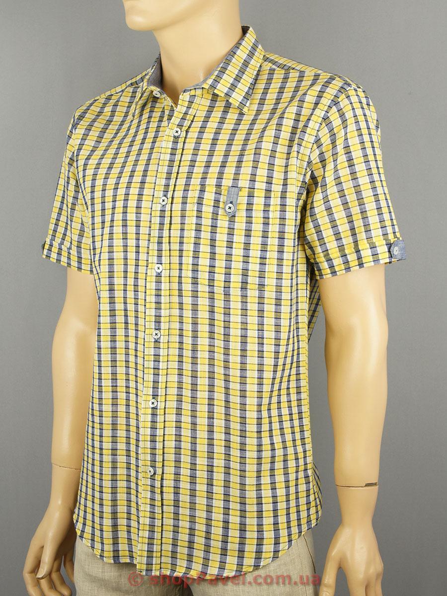 Чоловіча сорочка Love Man 0290 клітинка х/б