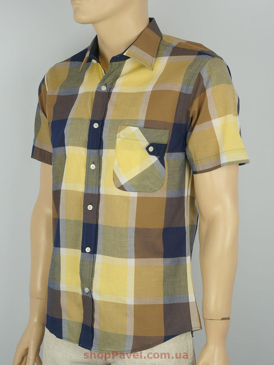 Чоловіча сорочка Love Man 0290 клітка