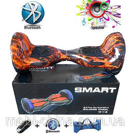 """Гироборд 10""""  подсветка, колонка, пульт ДУ, Bluetooth, чехол  Smart Balance Q10"""