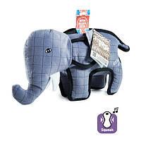 Игрушка Karlie-Flamingo Strong Elephant для собак мягкая, 28х9,5х28 см