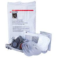 Полумаска-респиратор 3M 6200 (3M 6200) + комплект фильтров