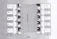 Фрезы для изготовления   стенового бруса ( Гребёнка)