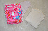 Многоразовый подгузник летний для девочки., фото 1