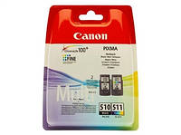 Картридж Canon PG-510Bk/CL-511 цв. Multi Pack (2970B010)