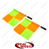 Комплект судейских флагов (футбольного арбитра) 2шт C-4949