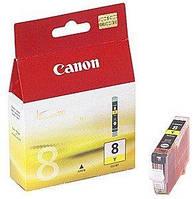 Чернильница Canon CLI-8Y (Yellow) iP4300/4500/ 5300/6700D, iX4000/5000, MP500/530/800/830,Pro9000