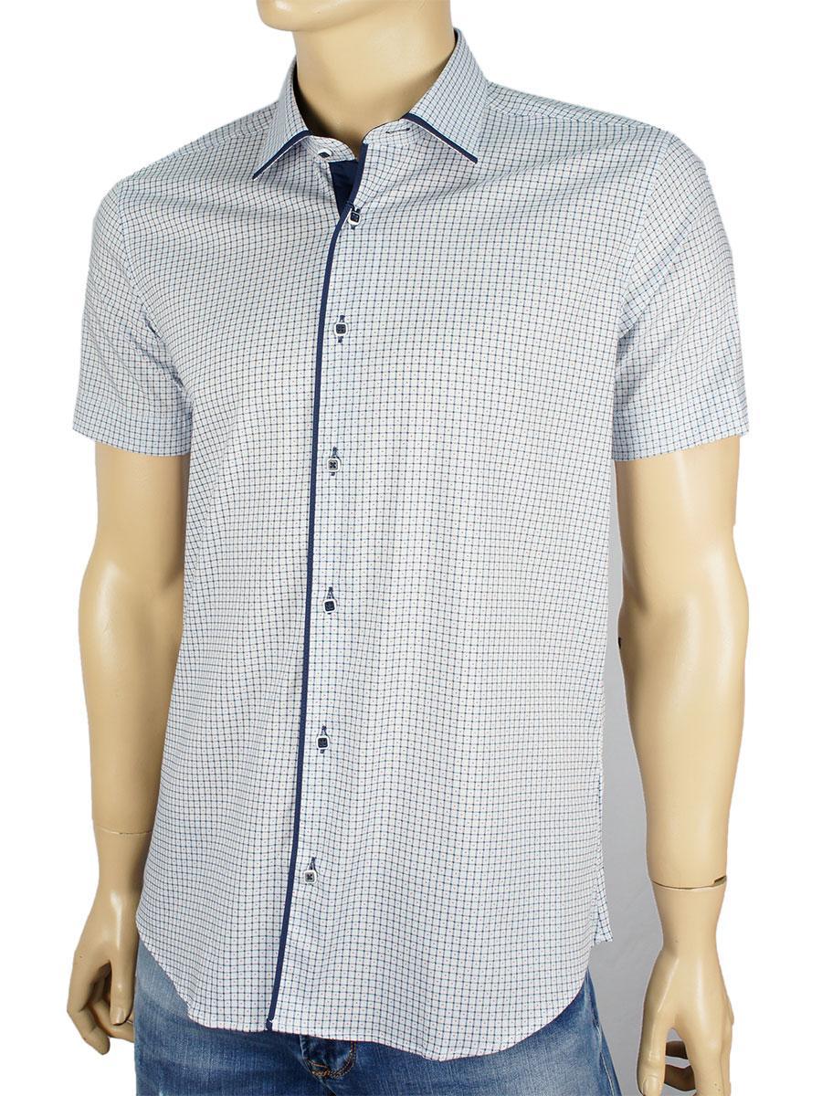 Чоловіча сорочка Negredo 1039#11 Н блакитного кольору