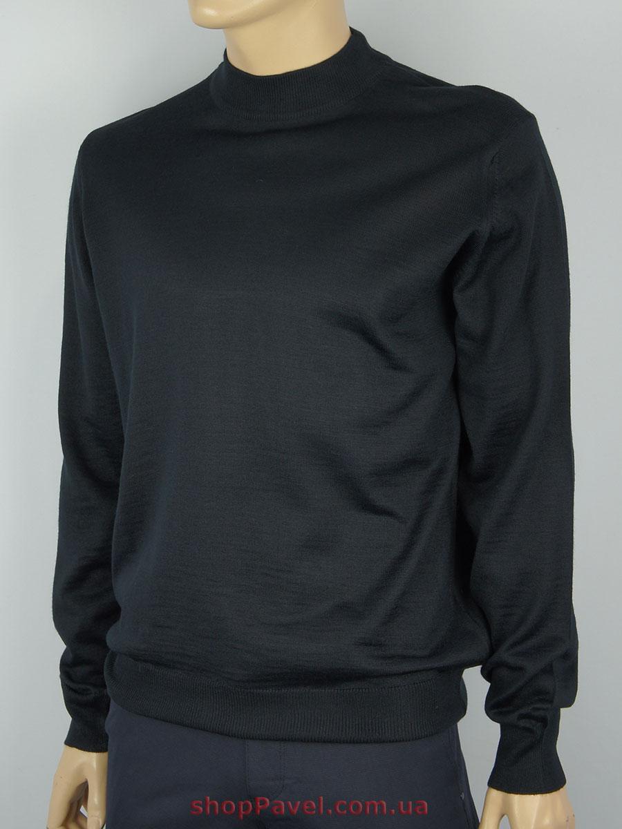 Чоловіча водолазка Taddy 0250 в чорному кольорі