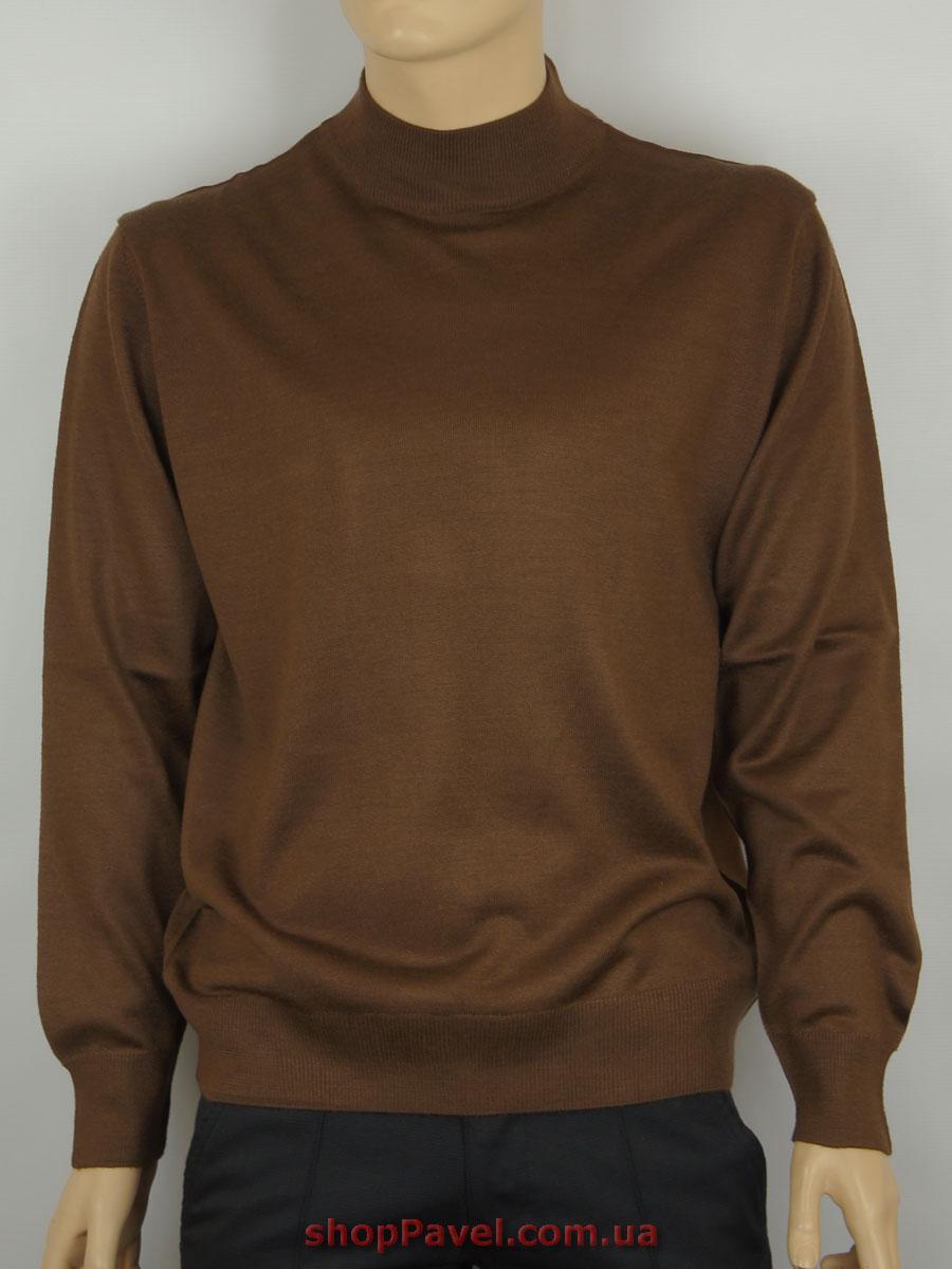 Чоловіча водолазка Taddy 0250 в коричневому кольорі