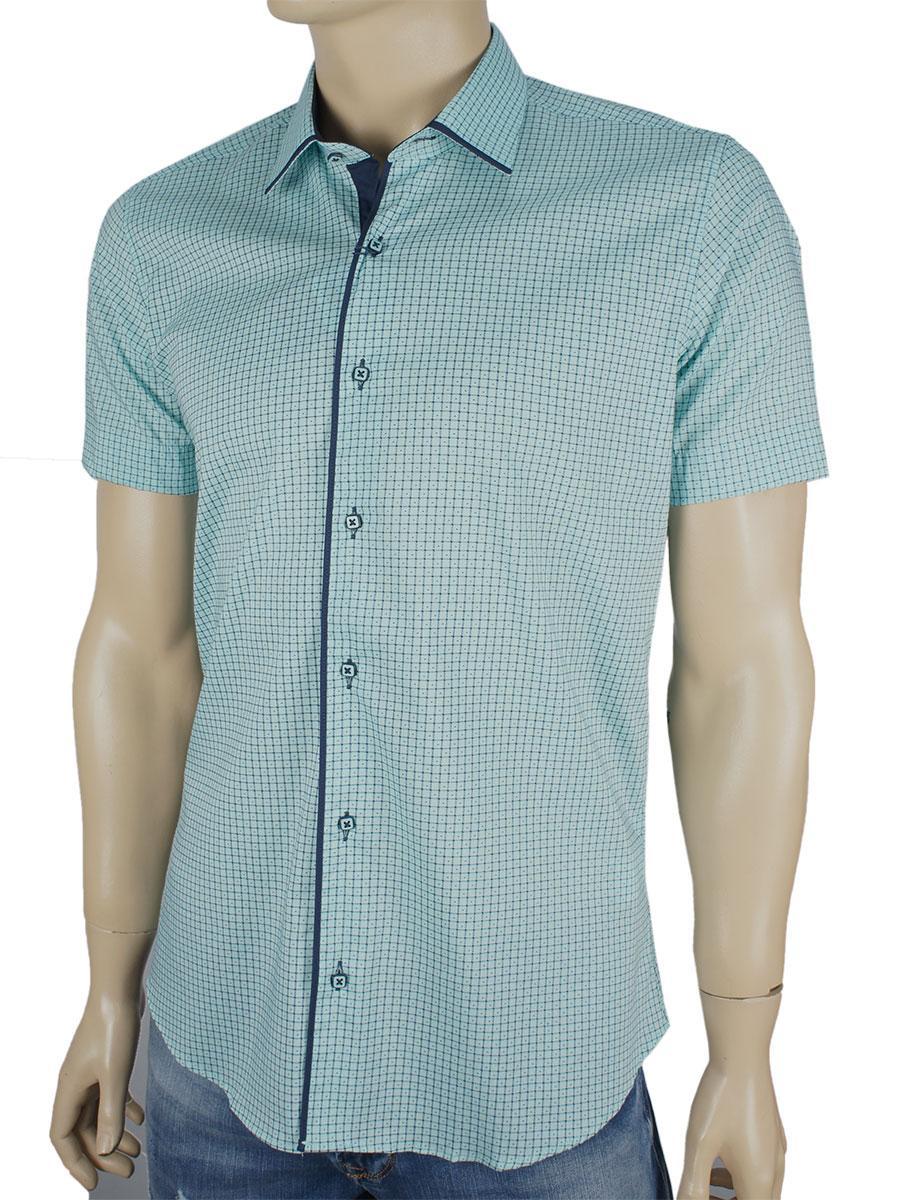 Чоловіча сорочка Negredo 1039#08 Н мятного кольору