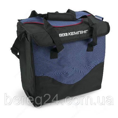 Термосумка (сумка-холодильник) Кемпiнг HB5-720  19 л синяя iзотермiчна сумка