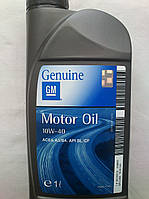 Моторное масло General Motors GM 10w40 (1 литр)