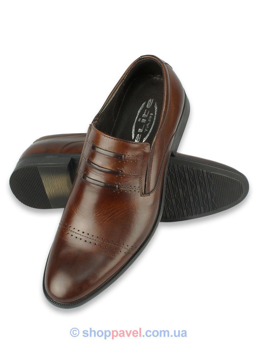 Туфлі чоловічі Tapi 4444 коричневого кольору